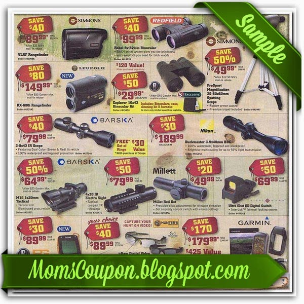 photograph relating to Gander Mountain Printable Coupon identified as Free of charge Printable Gander Mountain Discount coupons Cost-free Printable