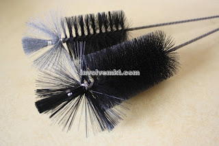 nylon tube cleaning brush