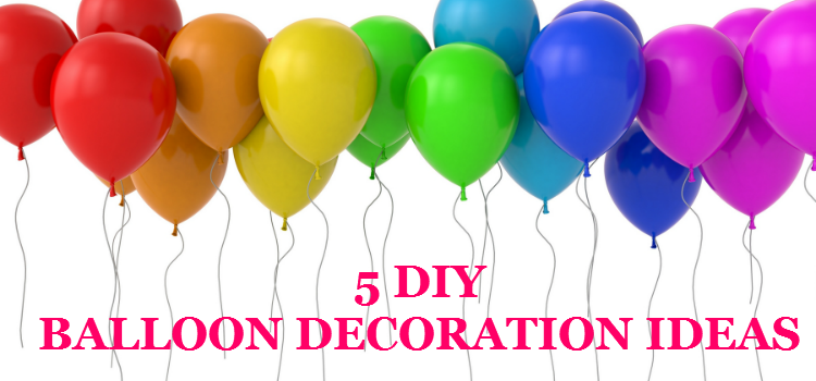 Fun 39 n 39 frolic 5 diy balloon decoration ideas for Balloon decoration ideas diy