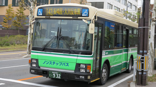 Local Buses in Akita city