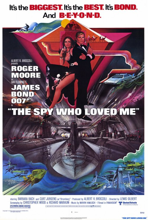 The Spy Who loved Me 007 poster