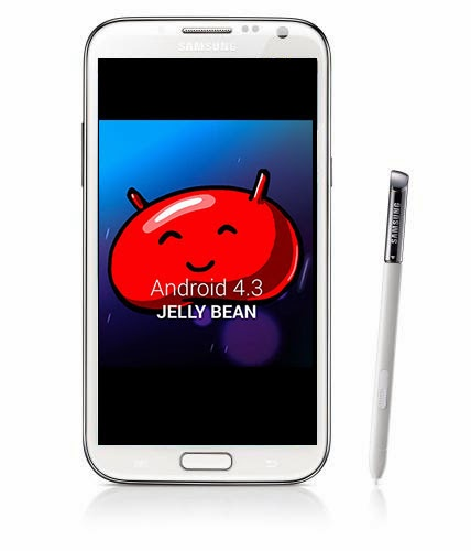 note 2 jelly bean 4.3