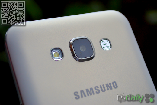 Samsung Galaxy E7 Review Camera