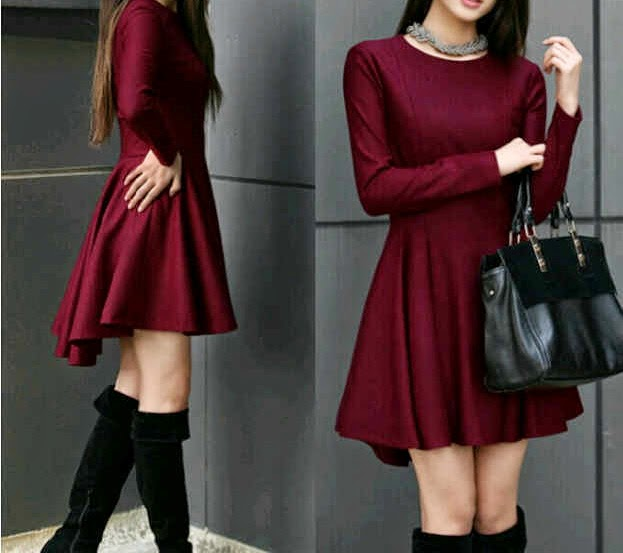 dress wanita spandek