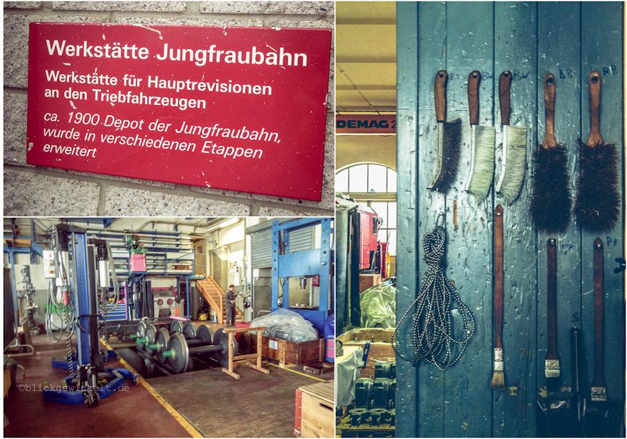 Werkstatt der Jungfraubahnen