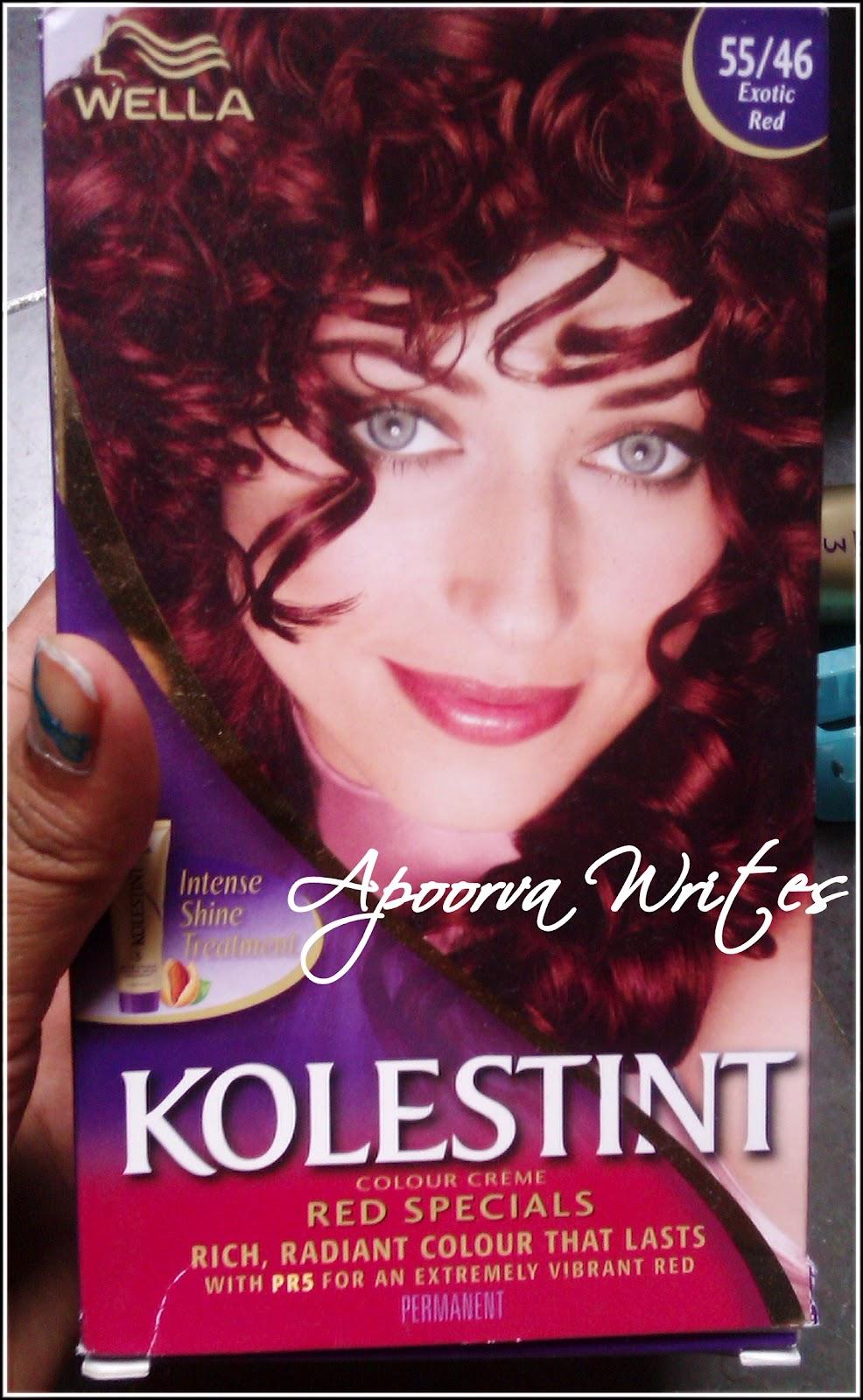 Wella Kolestint Colour Creme Exotic Red 5546 Review Gettblush
