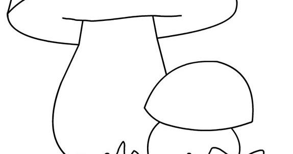 Stampa e colora fungo porcino for Fungo da colorare per bambini