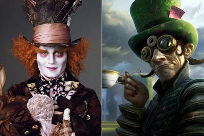 Концепт арт персонажей из знаменитых фильмов (19 фото)