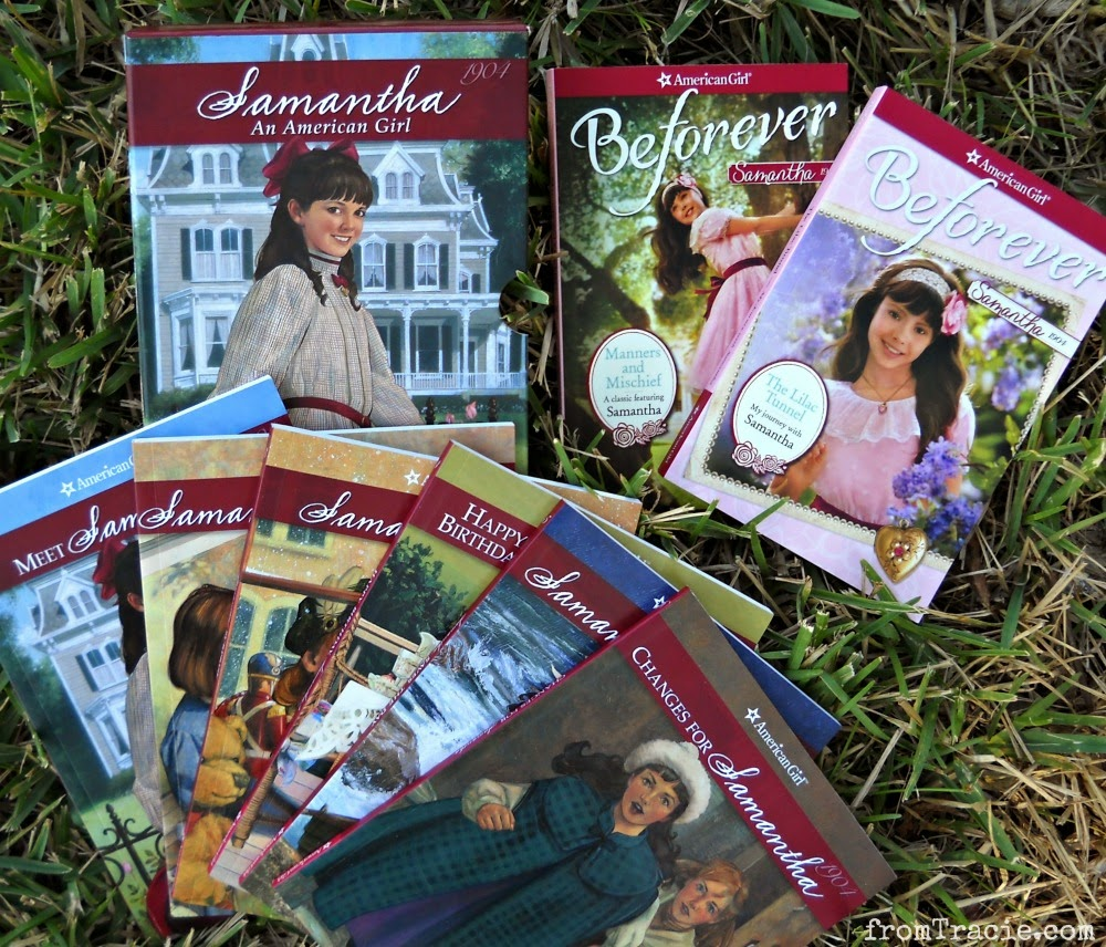 American Girl Samantha Books Original And BeForever