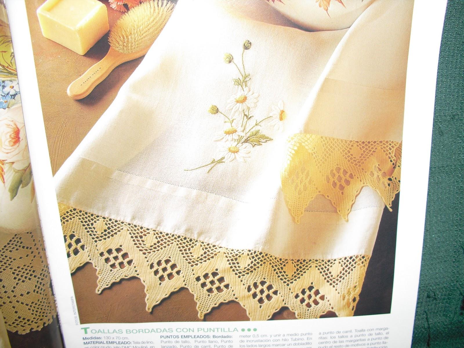 Puntillas De Crochet Para Sabanas
