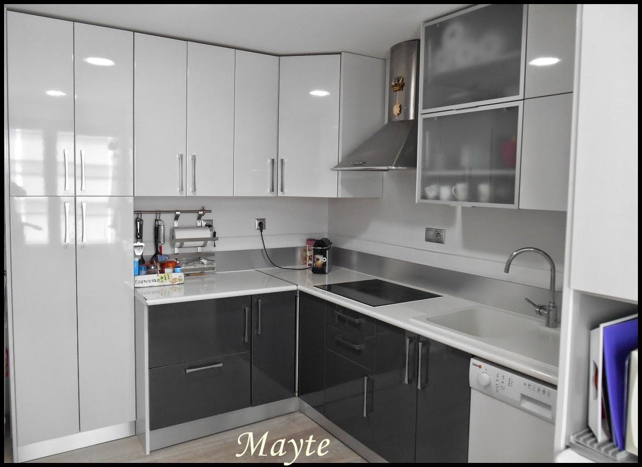 Desde mi terraza el refugio de mayte cocina reformada - Cocina para dos ...