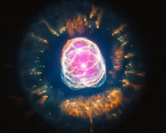 Clownface nebula (Туманность Эскимос, NGC 2392)