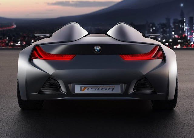 BMW VisionConnectedDrive Rear View