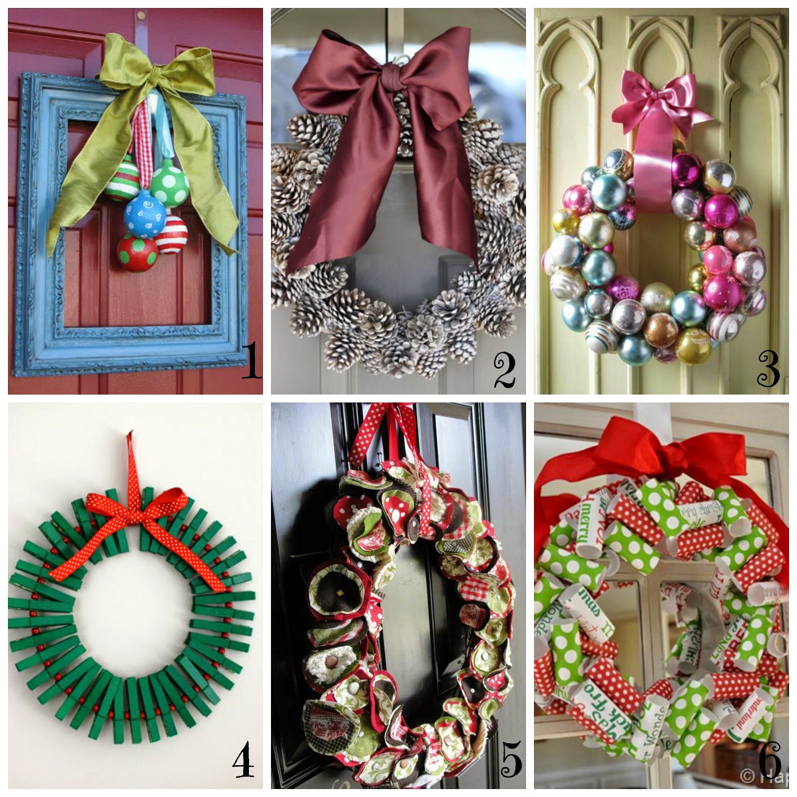 Ghirlande di natale fai da te 12 tutorial semplici e veloci - Decorazioni natalizie fatte a mano per bambini ...