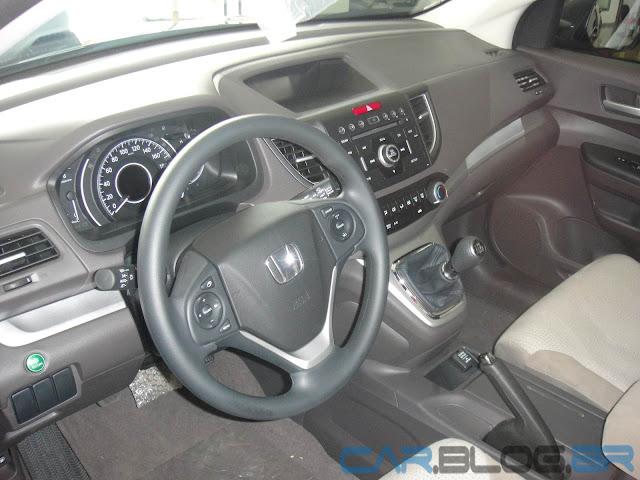 Honda CR-V LX Mecânico 2013 - interior