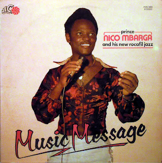 Prince Nico Mbarga and his NewRocafil Jazz - Music Message,Nico Records