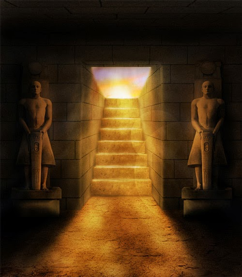 Ancient Egyptian Tomb in Photoshop