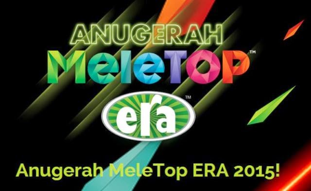 Senarai Percalonan Penuh Top 5 Anugerah MeleTOP Era 2015