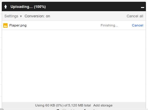 Google Drive Upload