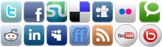 Menambahkan Button Profil Sosial Media