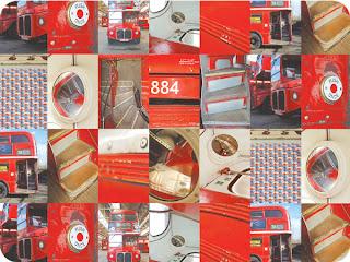 Routemaster Ella Doran Design placemat