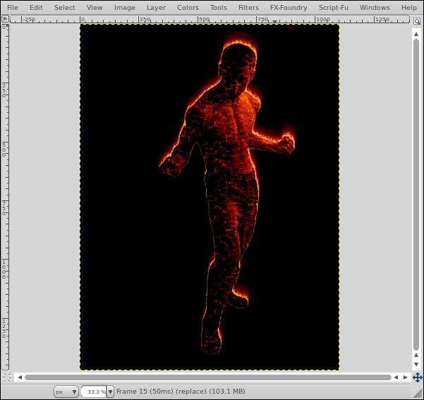 Infusio: Create the Lava Man/Human Torch with Gimp.