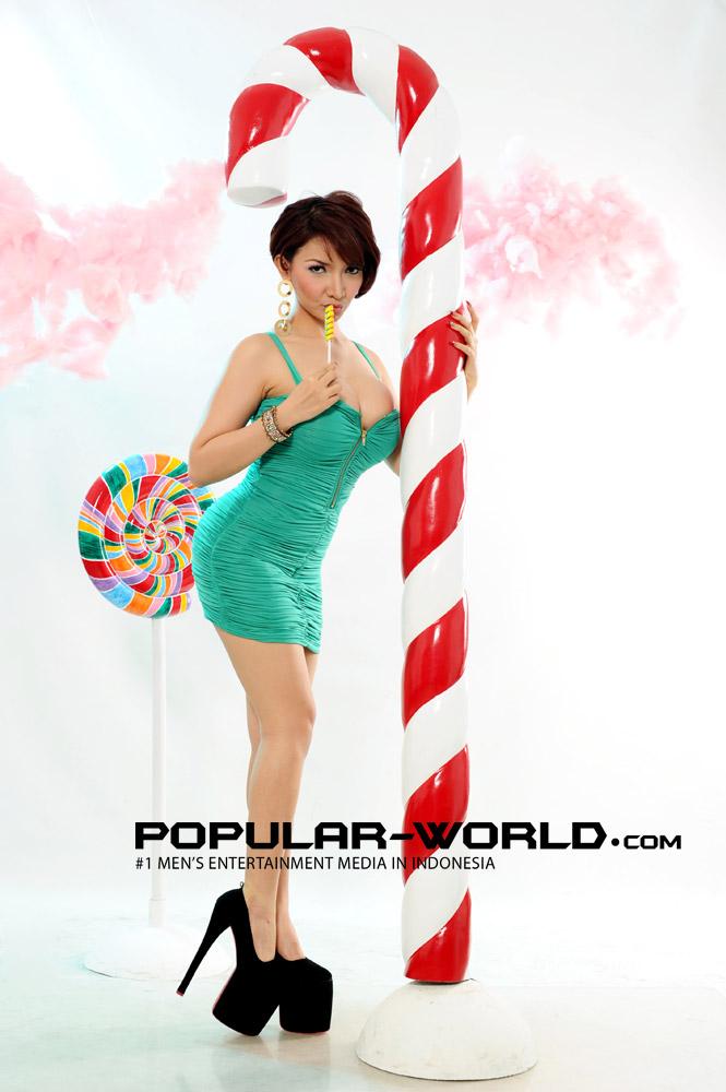 Roro Fitria Model Cantik Popular World