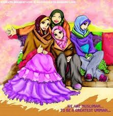 poster kartun muslimah