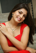 Priyadarshini Glam Pics in Red at Dillunnodu audio-thumbnail-1