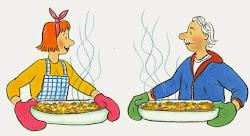 Die illustrierte Küche