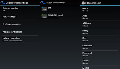 APN - Access Point Name - Philippines