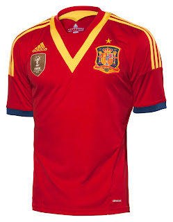 nueva camiseta de espana