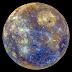 Hình ảnh Sao Thủy đầy màu sắc từ tàu MESSENGER