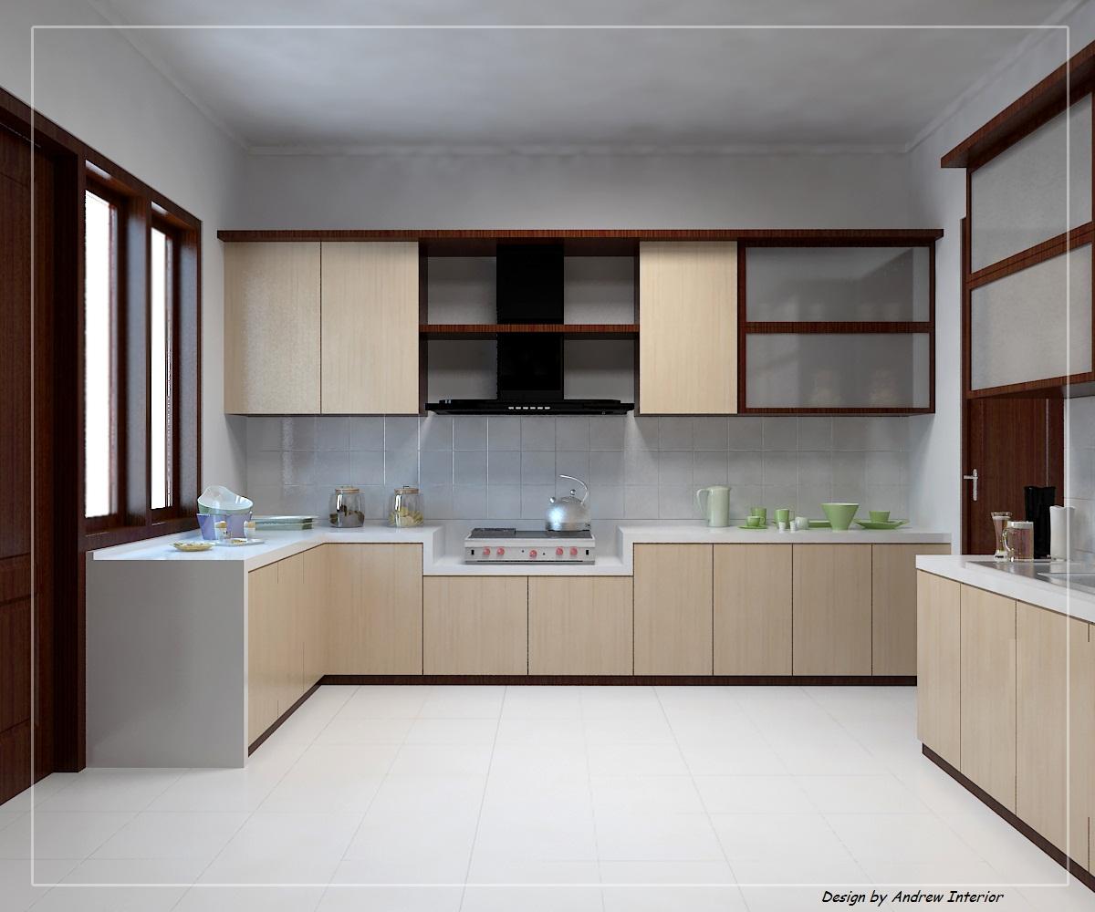 Pin home kitchen set aluminium 1 on pinterest for Kitchen set dari aluminium