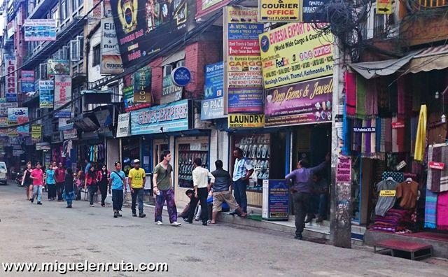 Turismo-Thamel-Katmandu