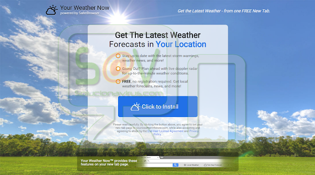 Your Weather Now Toolbar