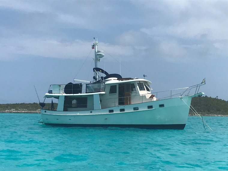 Our Kadey Krogen Trawler