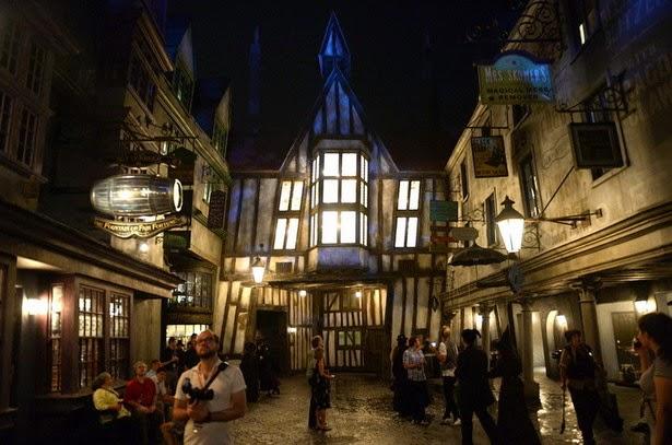 Callejón Diagon Harry Potter en Orlando