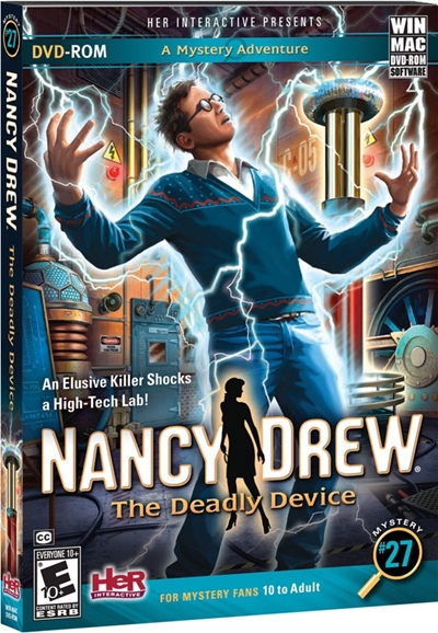 Nancy Drew The Deadly Device PC Full Descargar 2012 DVD5
