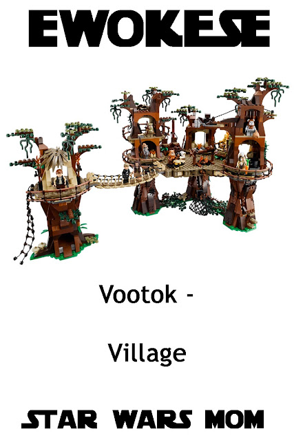 Learning Ewokese Flashcards - Village