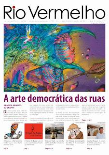 Confira tudo que já foi publicado nas sete edições do Jornal do Rio Vermelho