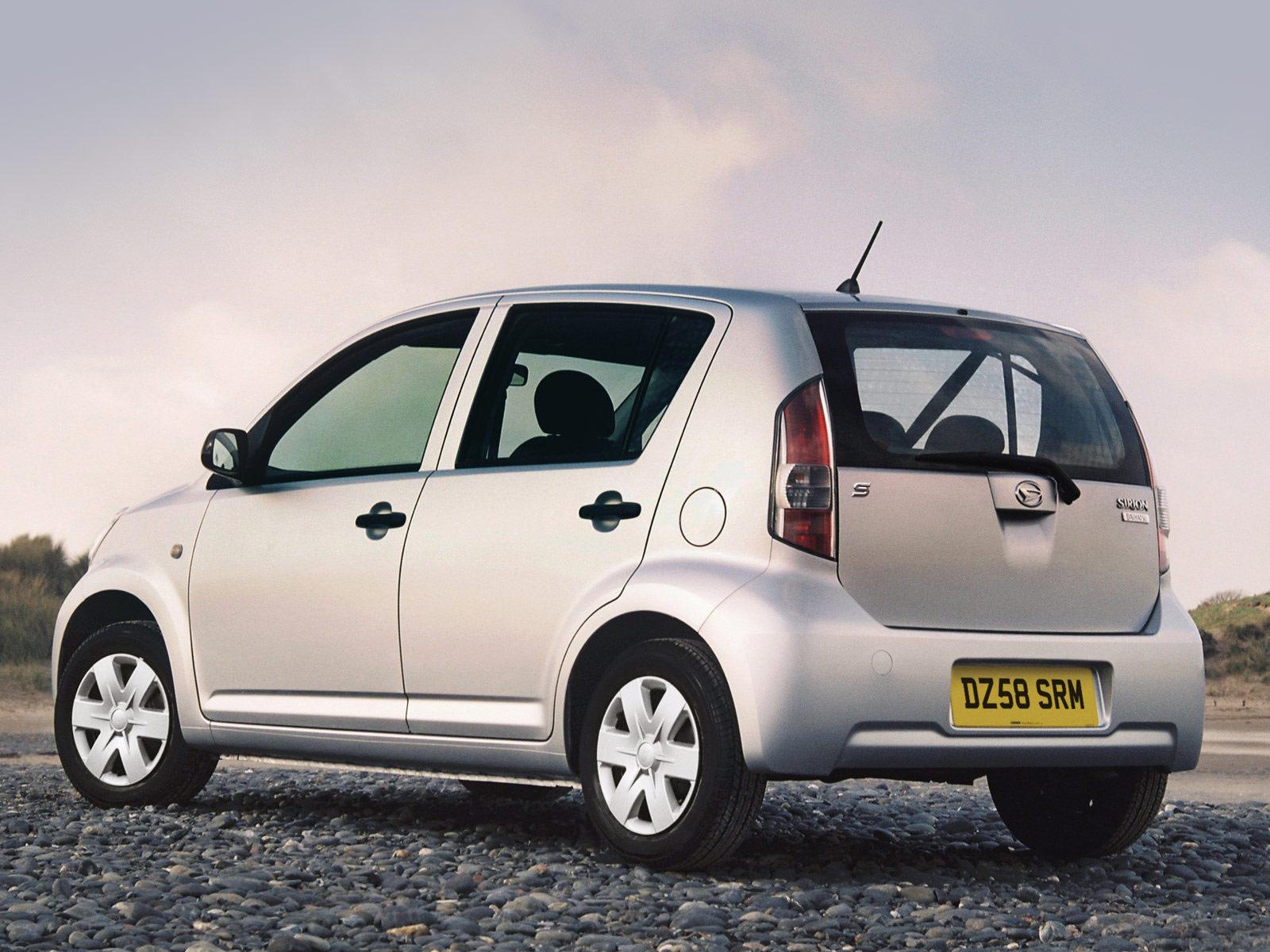 2007 Daihatsu Sirion Japan Automobiles