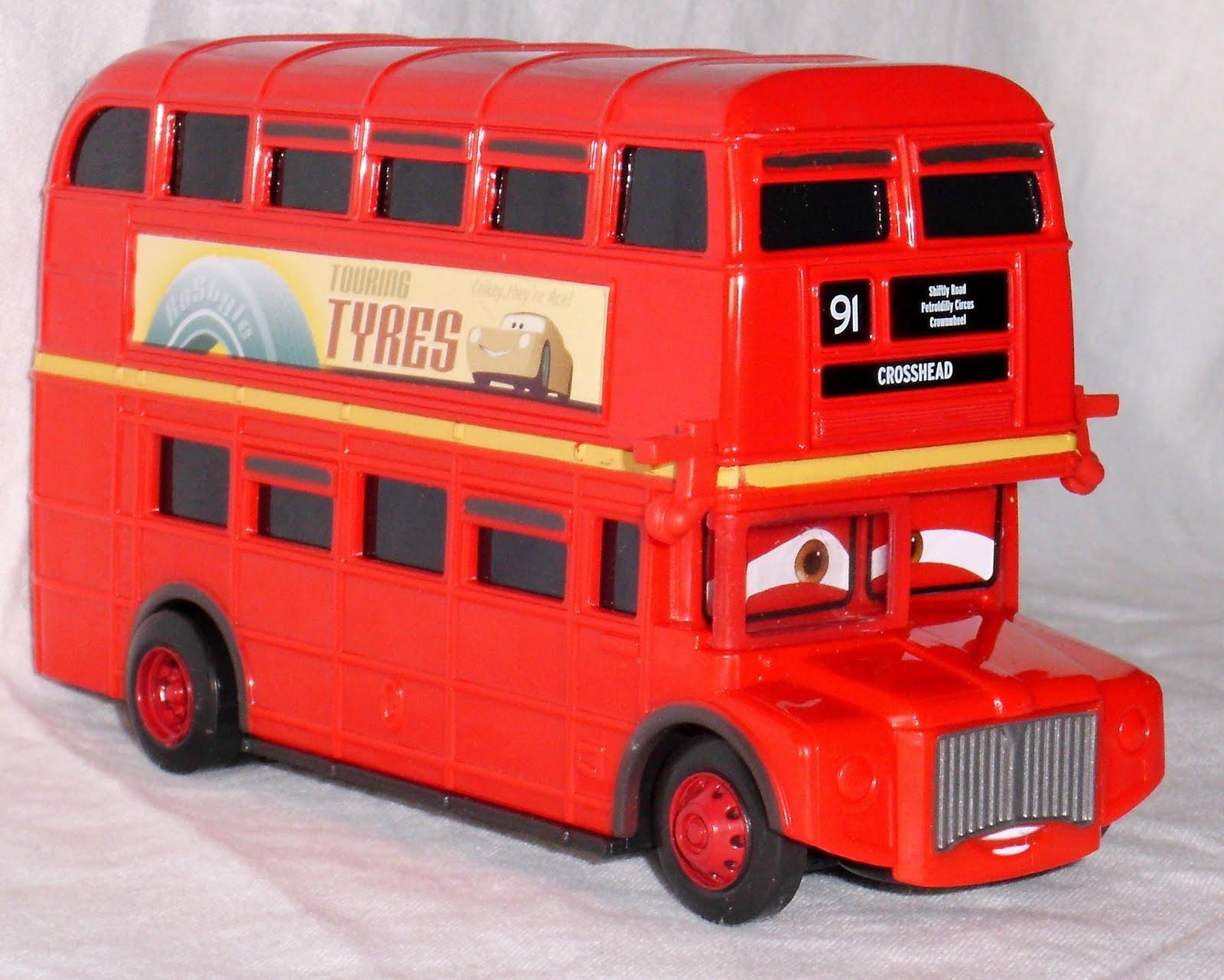 Personajes de cine tbo y tv 2 autobus de dos pisos cars 2 - Autobuses de dos pisos ...