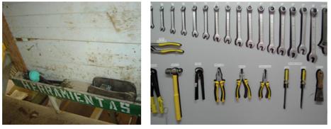 Aplicaci n de la metodolog a 5s en el agro junio 2012 - Tablero de herramientas ...