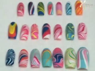 ebruli nail art