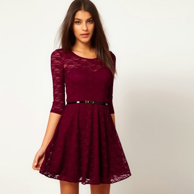 http://www.koees.com/koees-6606-Half-sleeve-lace-lady-dress-9088.html