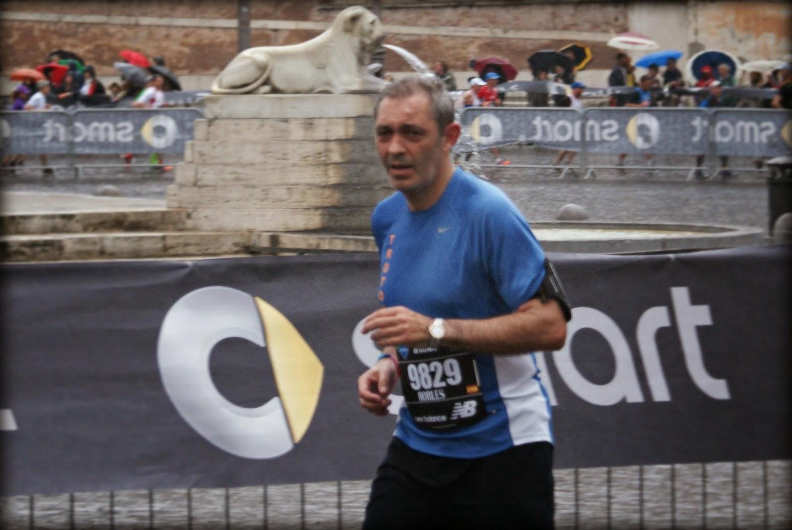 Maratón de Roma 2014 km39