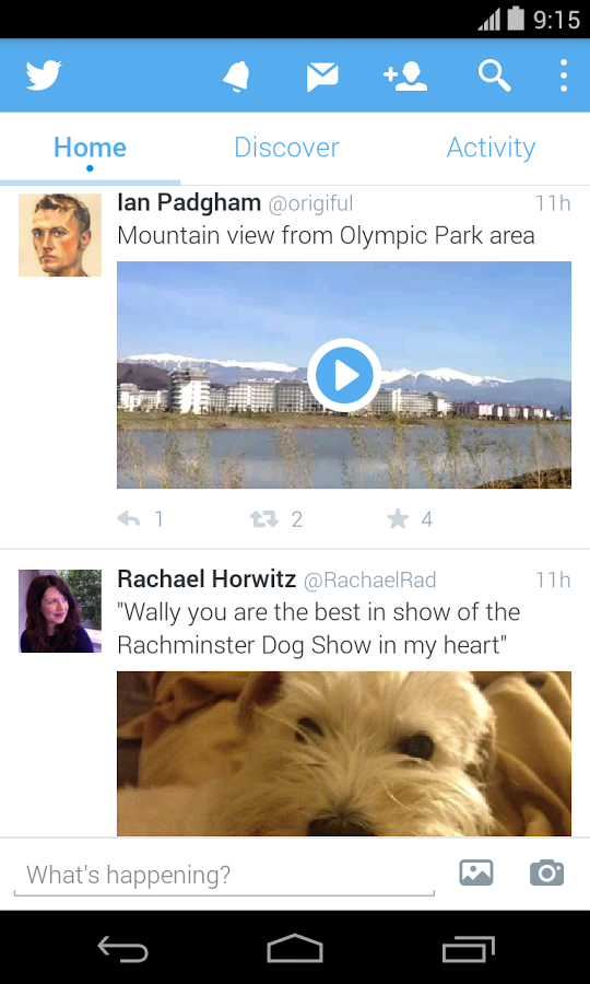 Twitter Android Apk Uygulama resimi 6