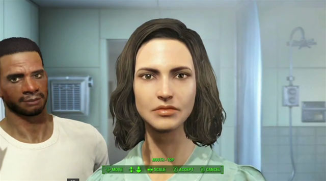 Fallout 4 female character creation