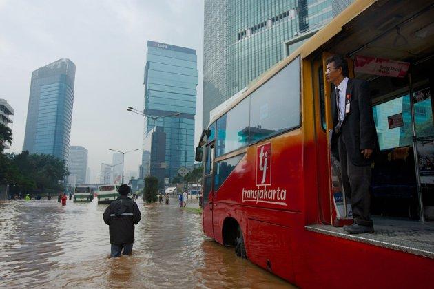 Foto - Foto Banjir Jakarta Tahun 2013
